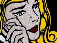 Lichtenstein crying girl